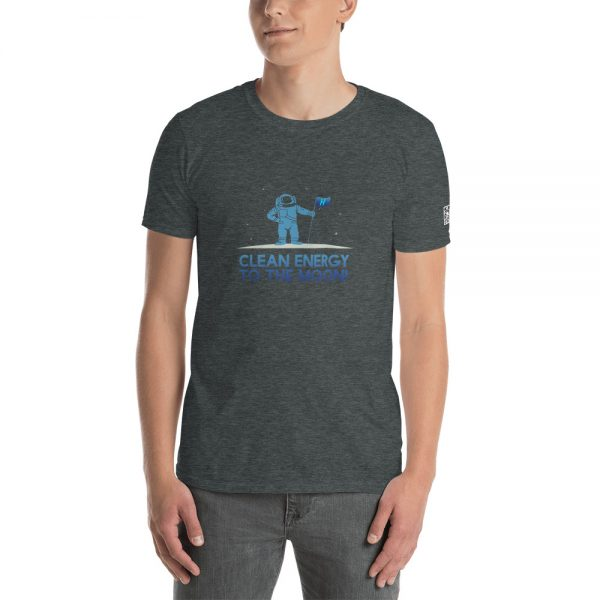 Clean Energy To The Moon Short-Sleeve Unisex T-Shirt 10