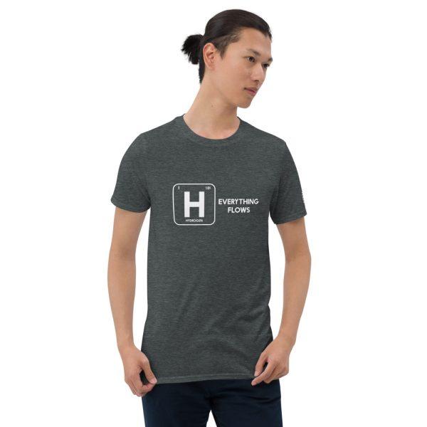 Hydrogen Everything Flows Short-Sleeve Unisex T-Shirt 15