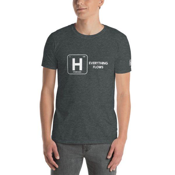 Hydrogen Everything Flows Short-Sleeve Unisex T-Shirt 28