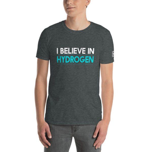 I Believe in Hydrogen Short-Sleeve Unisex T-Shirt 4