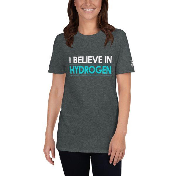 I Believe in Hydrogen Short-Sleeve Unisex T-Shirt 5