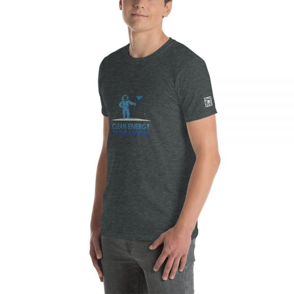 Clean Energy To The Moon Short-Sleeve Unisex T-Shirt 12