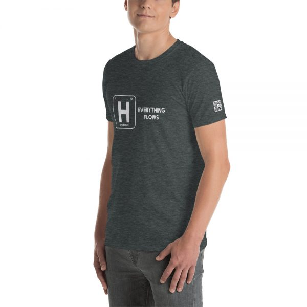 Hydrogen Everything Flows Short-Sleeve Unisex T-Shirt 24