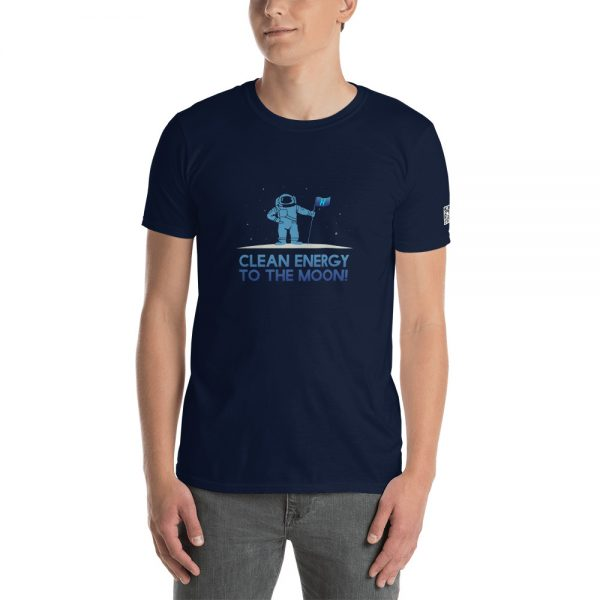 Clean Energy To The Moon Short-Sleeve Unisex T-Shirt 7