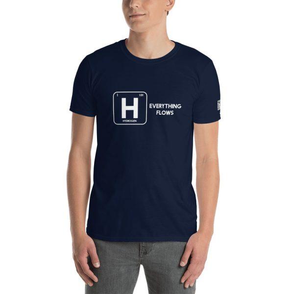 Hydrogen Everything Flows Short-Sleeve Unisex T-Shirt 41