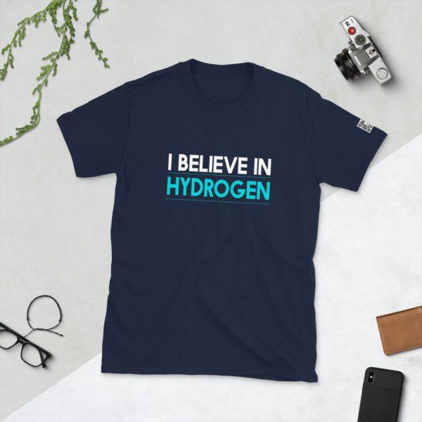 I Believe in Hydrogen Short-Sleeve Unisex T-Shirt 7