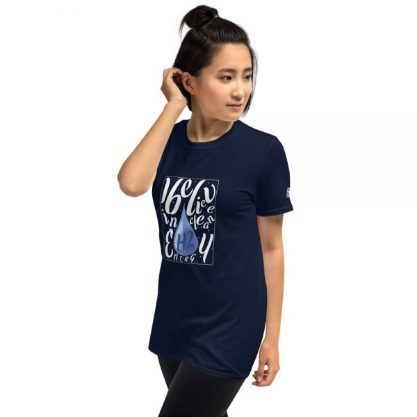 I Believe in H2 Clean Energy Short-Sleeve Unisex T-Shirt 17