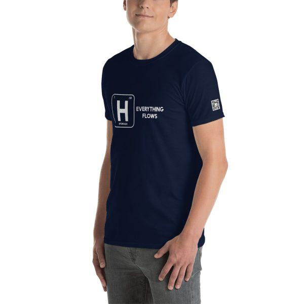 Hydrogen Everything Flows Short-Sleeve Unisex T-Shirt 21