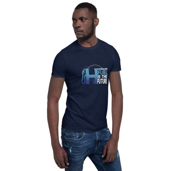 Hydrogen Future Short-Sleeve Unisex T-Shirt 14