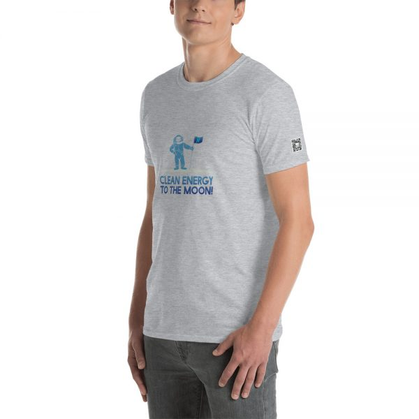 Clean Energy To The Moon Short-Sleeve Unisex T-Shirt 15