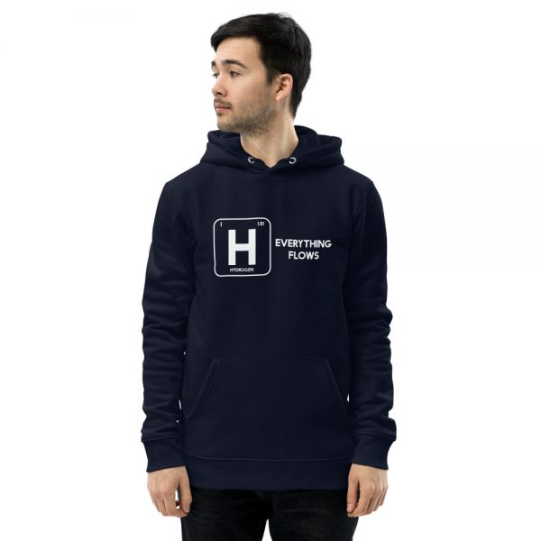 Earth Friendly Unisex Hydrogen Eco Hoodie - Everything Flows 11