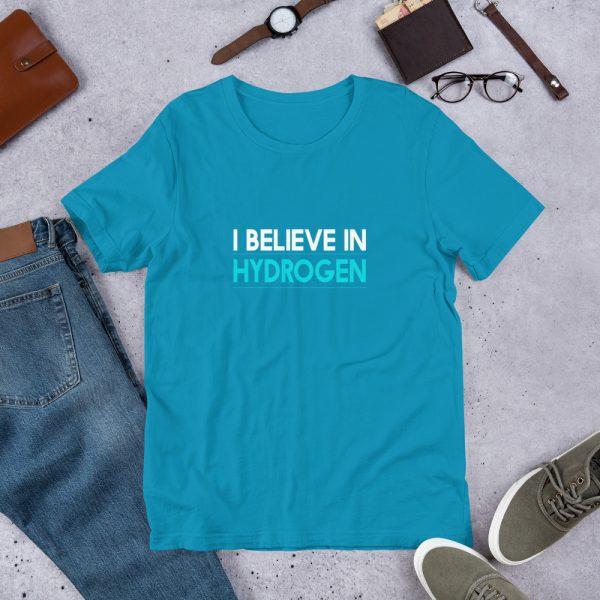 I Believe in Hydrogen Short-Sleeve Unisex T-Shirt - Multiple Colors 21