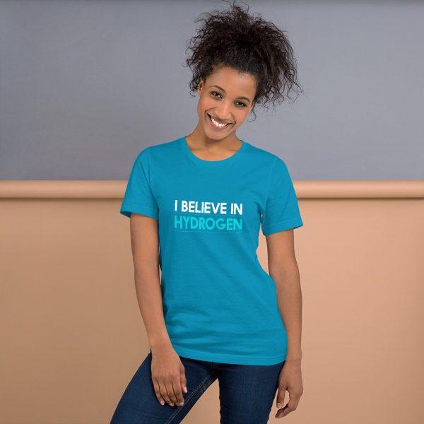 I Believe in Hydrogen Short-Sleeve Unisex T-Shirt - Multiple Colors 22