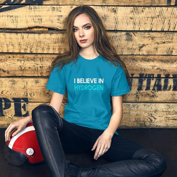 I Believe in Hydrogen Short-Sleeve Unisex T-Shirt - Multiple Colors 23