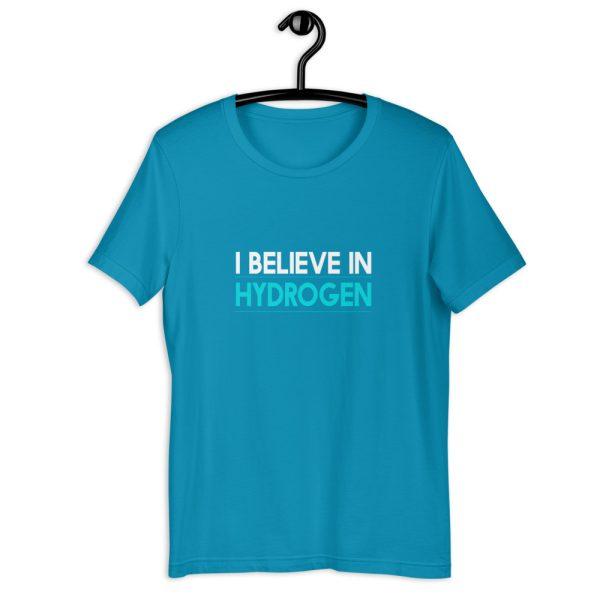 I Believe in Hydrogen Short-Sleeve Unisex T-Shirt - Multiple Colors 24