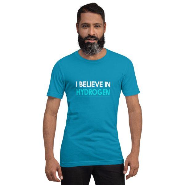 I Believe in Hydrogen Short-Sleeve Unisex T-Shirt - Multiple Colors 25
