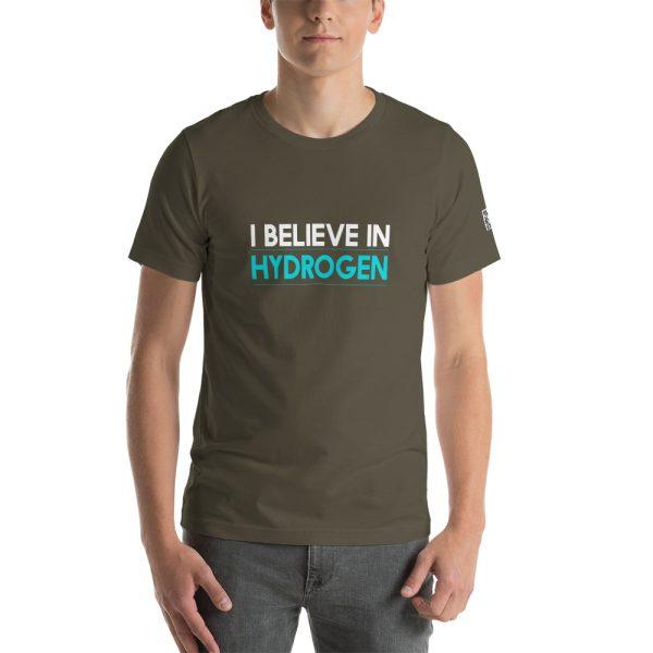 I Believe in Hydrogen Short-Sleeve Unisex T-Shirt - Multiple Colors 50