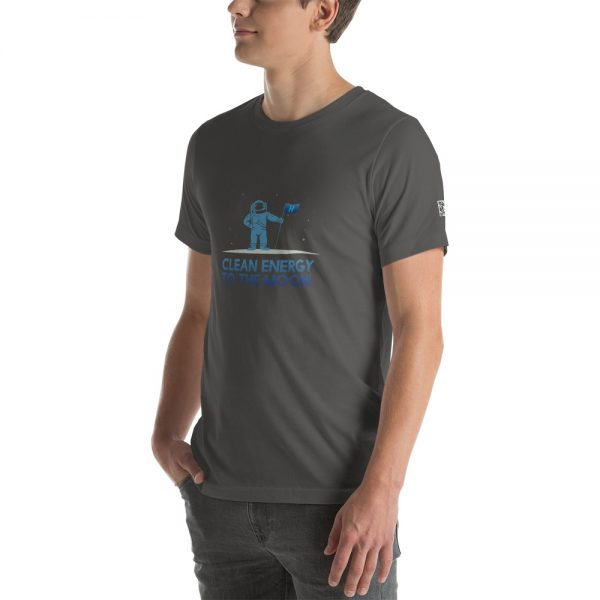 Clean Energy to the Moon Short Sleeve T-Shirt - Multiple Color Options 9