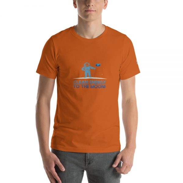 Clean Energy to the Moon Short Sleeve T-Shirt - Multiple Color Options 73