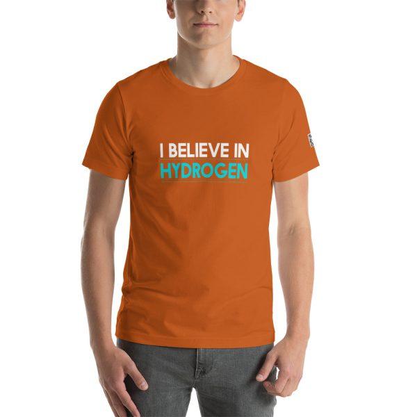 I Believe in Hydrogen Short-Sleeve Unisex T-Shirt - Multiple Colors 58