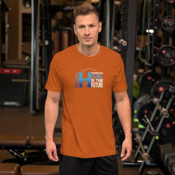 Unisex Hydrogen T-Shirt H2 Fuel is The Future - Multiple Colors 31