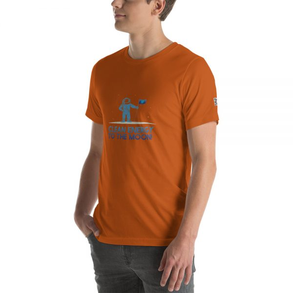 Clean Energy to the Moon Short Sleeve T-Shirt - Multiple Color Options 15