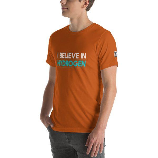 I Believe in Hydrogen Short-Sleeve Unisex T-Shirt - Multiple Colors 60