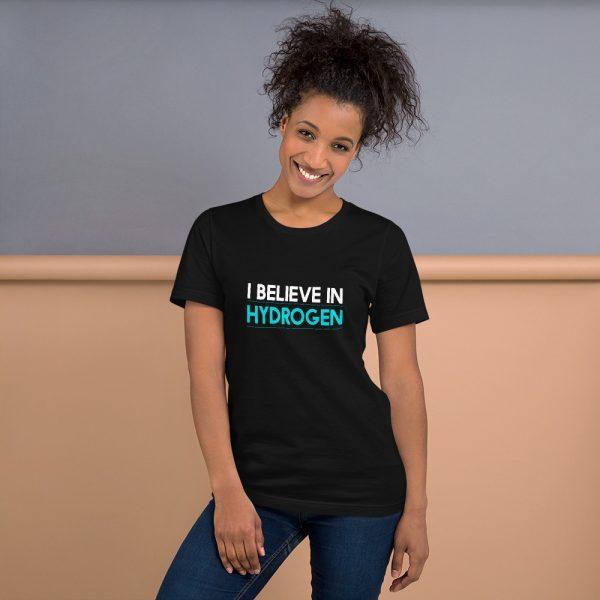 I Believe in Hydrogen Short-Sleeve Unisex T-Shirt - Multiple Colors 1