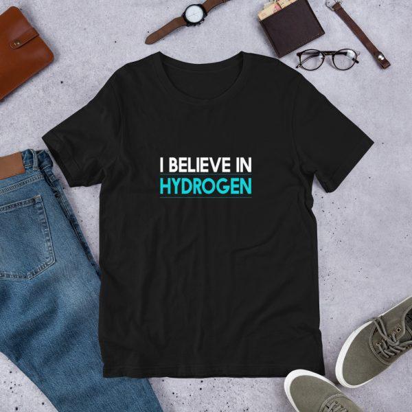 I Believe in Hydrogen Short-Sleeve Unisex T-Shirt - Multiple Colors 2