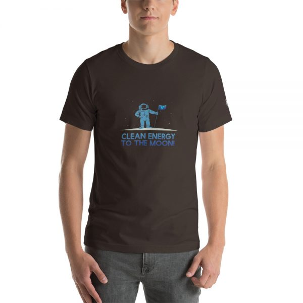 Clean Energy to the Moon Short Sleeve T-Shirt - Multiple Color Options 55