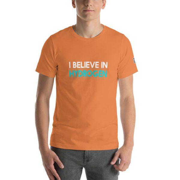 I Believe in Hydrogen Short-Sleeve Unisex T-Shirt - Multiple Colors 67