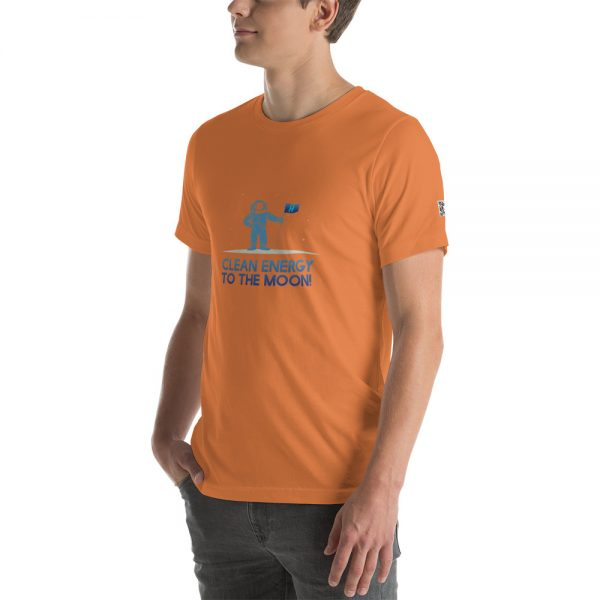 Clean Energy to the Moon Short Sleeve T-Shirt - Multiple Color Options 84