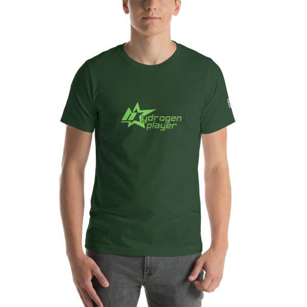 Hydrogen Player Short-Sleeve Unisex T-Shirt Multiple Colors 11