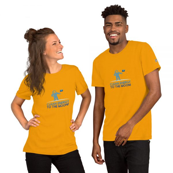 Clean Energy to the Moon Short Sleeve T-Shirt - Multiple Color Options 25