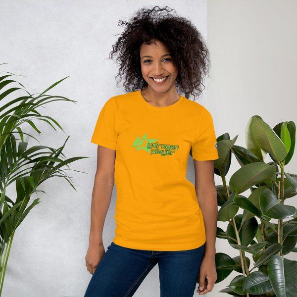 Hydrogen Player Short-Sleeve Unisex T-Shirt Multiple Colors 3