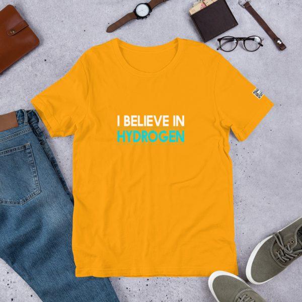 I Believe in Hydrogen Short-Sleeve Unisex T-Shirt - Multiple Colors 37