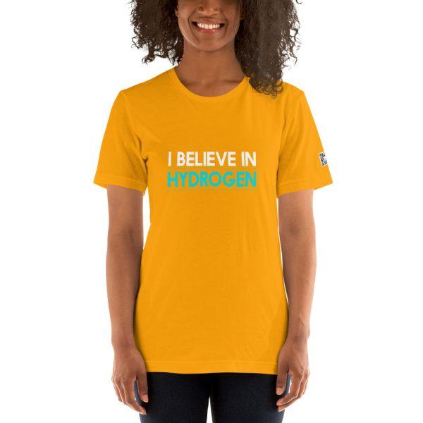 I Believe in Hydrogen Short-Sleeve Unisex T-Shirt - Multiple Colors 38