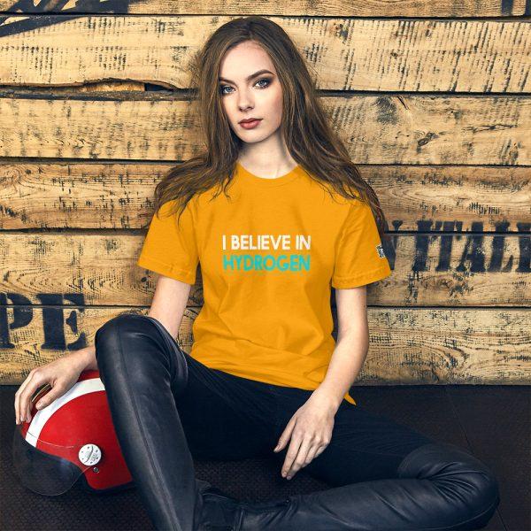 I Believe in Hydrogen Short-Sleeve Unisex T-Shirt - Multiple Colors 39