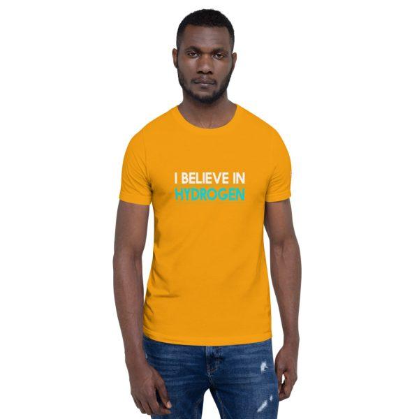 I Believe in Hydrogen Short-Sleeve Unisex T-Shirt - Multiple Colors 40