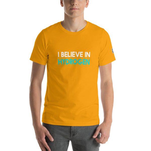 I Believe in Hydrogen Short-Sleeve Unisex T-Shirt - Multiple Colors 70