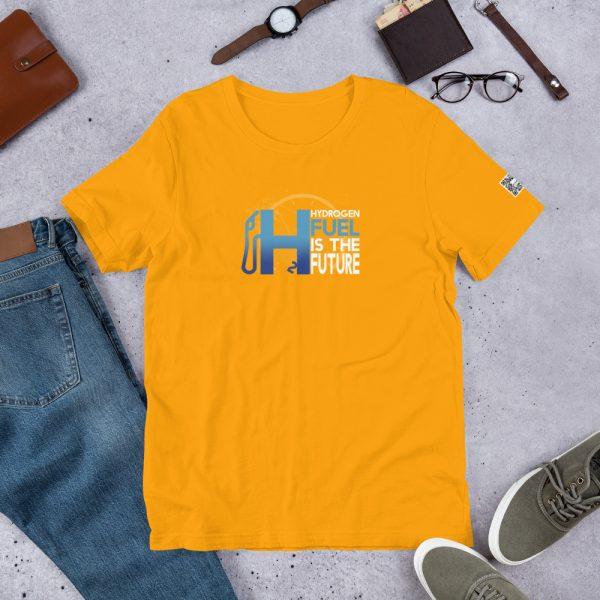 Unisex Hydrogen T-Shirt H2 Fuel is The Future - Multiple Colors 25
