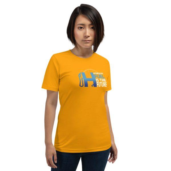Unisex Hydrogen T-Shirt H2 Fuel is The Future - Multiple Colors 26