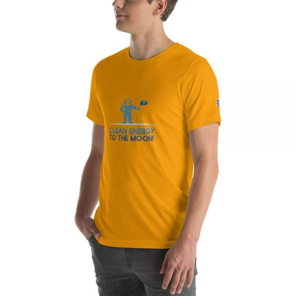 Clean Energy to the Moon Short Sleeve T-Shirt - Multiple Color Options 49