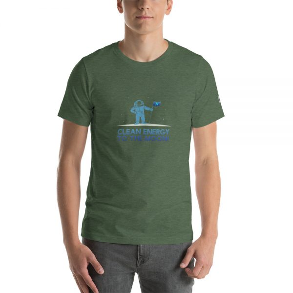 Clean Energy to the Moon Short Sleeve T-Shirt - Multiple Color Options 67