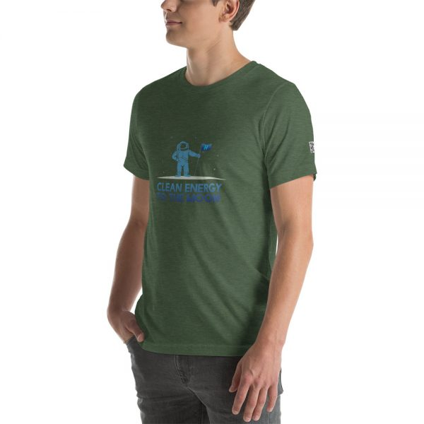 Clean Energy to the Moon Short Sleeve T-Shirt - Multiple Color Options 38