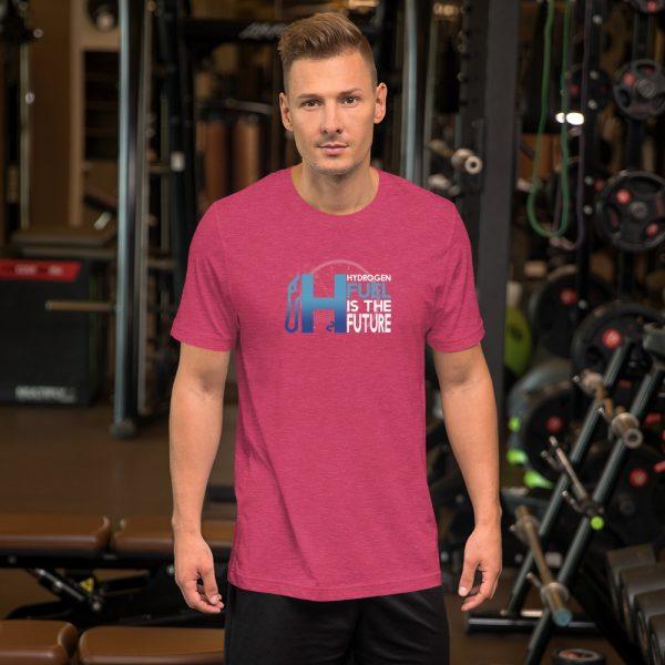 Unisex Hydrogen T-Shirt H2 Fuel is The Future - Multiple Colors 33