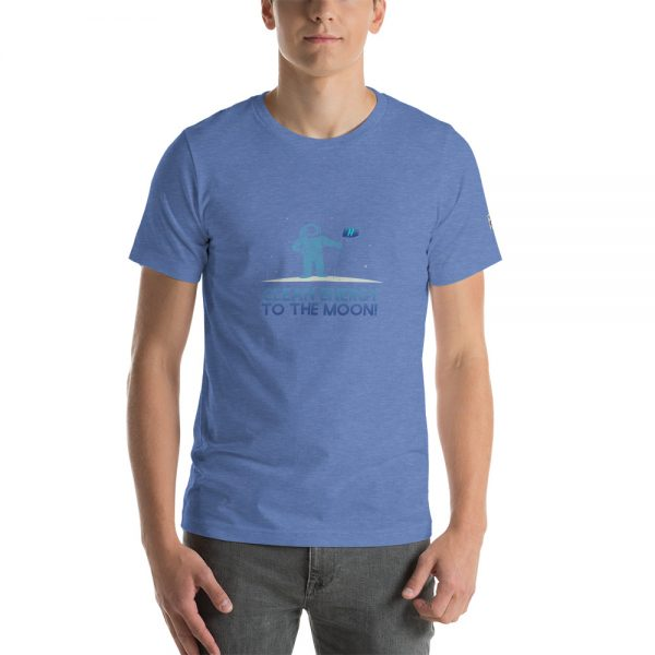 Clean Energy to the Moon Short Sleeve T-Shirt - Multiple Color Options 79