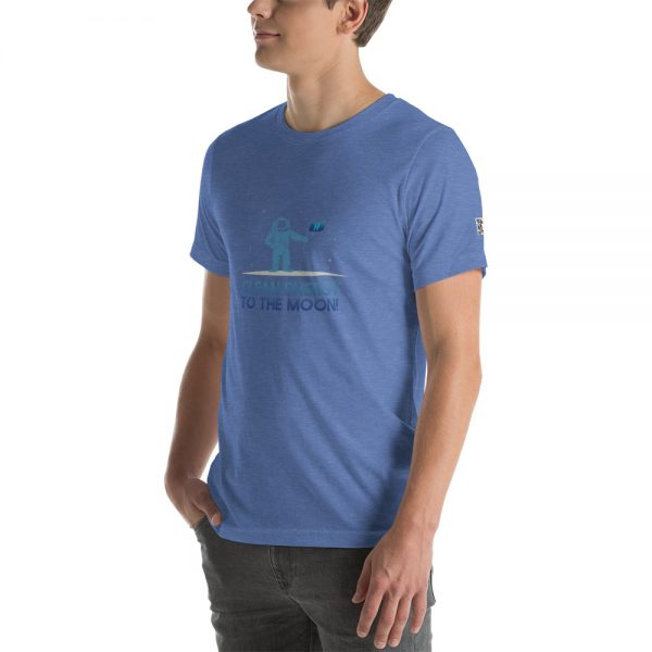 Clean Energy to the Moon Short Sleeve T-Shirt - Multiple Color Options 19