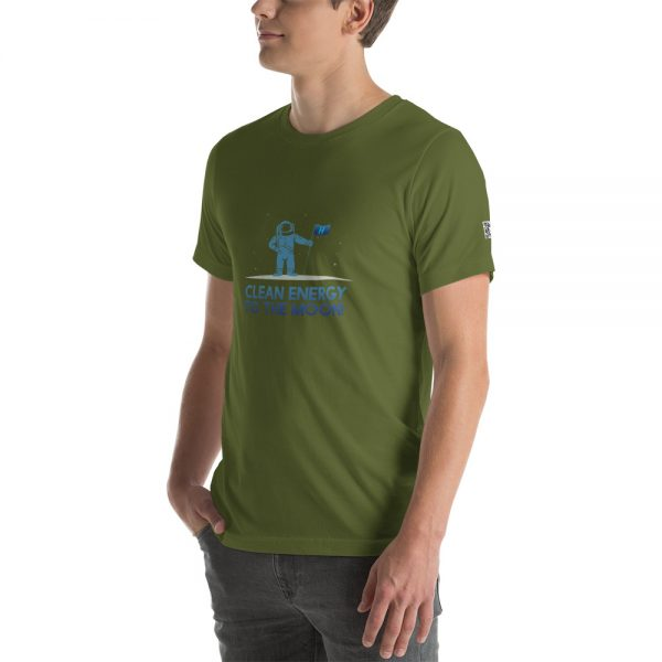 Clean Energy to the Moon Short Sleeve T-Shirt - Multiple Color Options 13