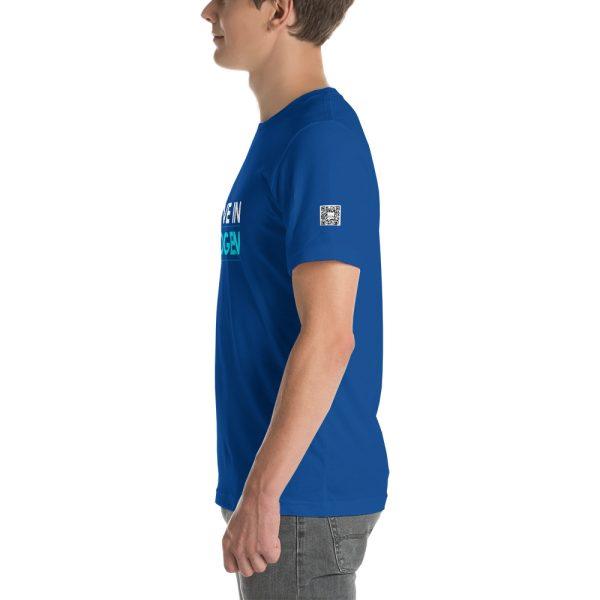 I Believe in Hydrogen Short-Sleeve Unisex T-Shirt - Multiple Colors 48